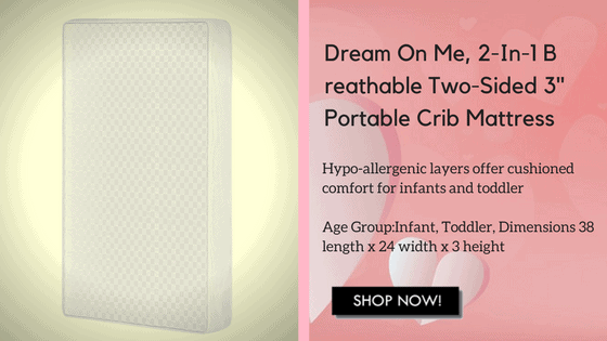 portable crib mattress