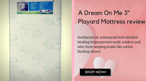 Playard mattress