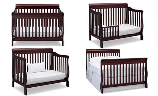 What is a convertible baby crib-1