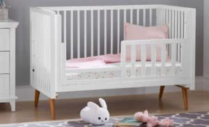 What is a convertible baby crib