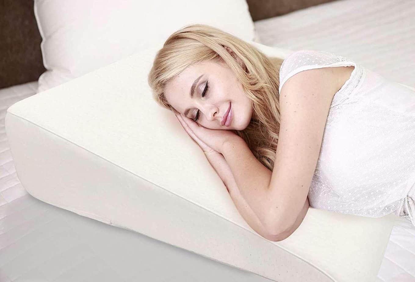 "5"" Wedge Pillow for Acid Reflux"