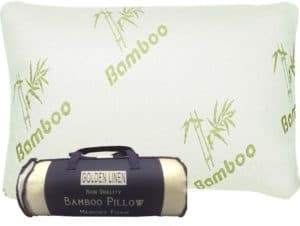 Bamboo Pillow with Memory Foam