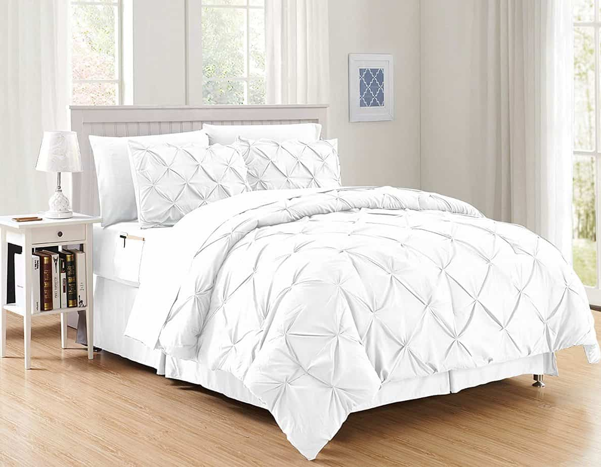 Elegant Comfort Luxury 8-Piece Bed-in-a-Bag Comforter Set