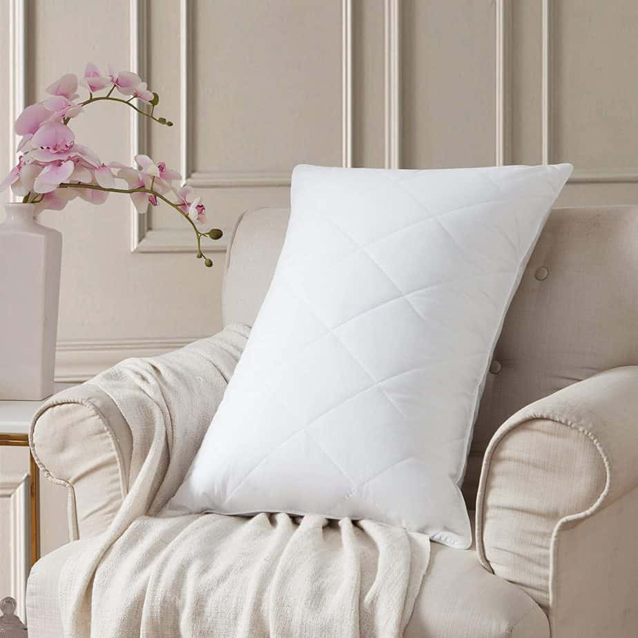 L LuvSoul Goose Feather Bed Pillows