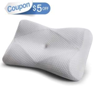 Mkicesky Memory Foam Neck Pillow