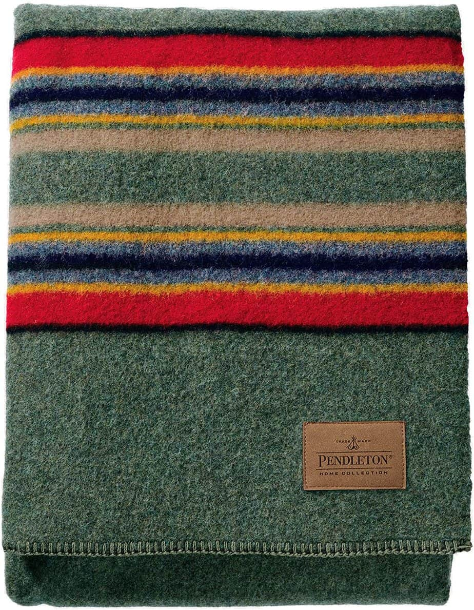 Pendleton Yakima Camp Thick Warm Wool Blanket