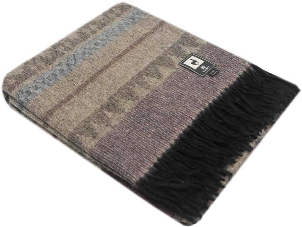 Putuco Special Alpaca Wool Cherokee Style Blanket Throw