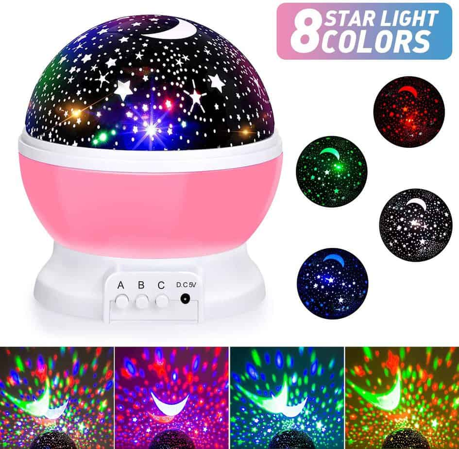 Sunnest Baby Lights Moon Star Projector