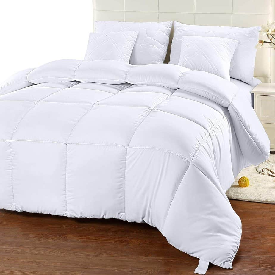 Utopia Bedding Quilted Comforter With Corner Tabs