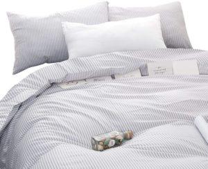 Wake in Cloud Modern Pattern Printed Comforter Set