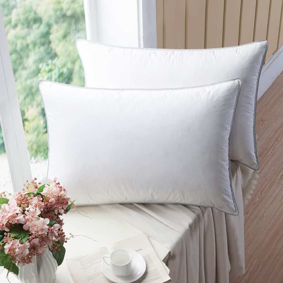Wenersi Premium Goose Feather Blended Pillows