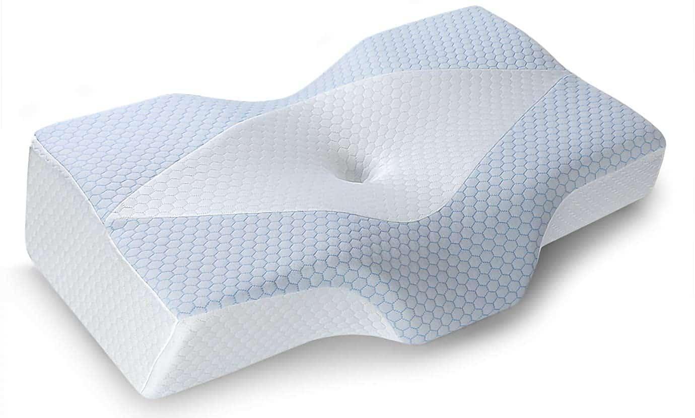 Mkicesky Memory Foam Contour Pillow