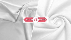 What is the difference between cotton, viscose rayon fibres