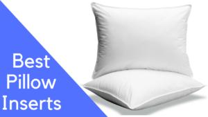 best pillow inserts