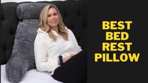 Best Bed Rest Pillow